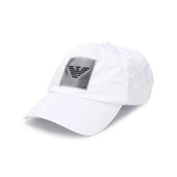 Armani Cap in White