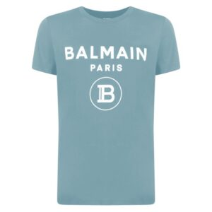BALMAIN - LIGHT BLUE - TEE