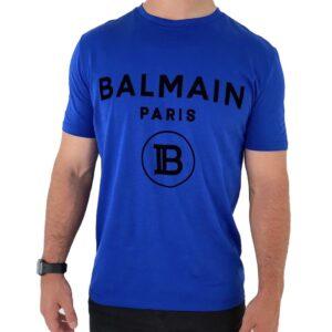 BALMAIN - ROYAL BLUE WITH FABRIC LOGO