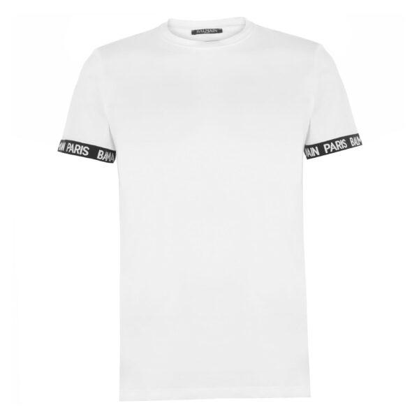 BALMAIN PARIS T-SHIRT-WHITE