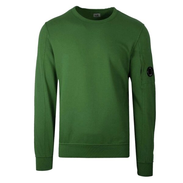 CP COMPANY - LENS SWEATER - GREEN