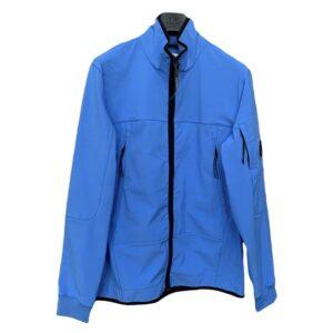 CP COMPANY - SOFT SHELL JACKET - BLUE
