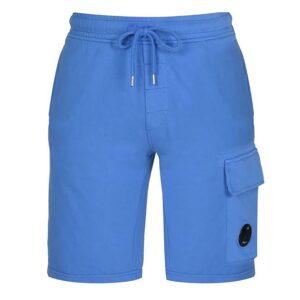 CP Company Lens Cotton Shorts - Blue
