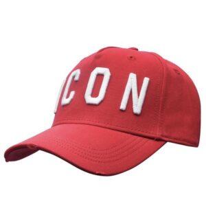 DSQUARED2 RED ICON CAP