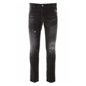 DSQUARED2-Cool Guy Jean-Washed Black
