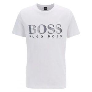 HUGO BOSS - T -SHIRT RN IN WHITE
