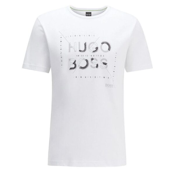 Hugo Boss-T-SHIRT-WHITE/ GREY