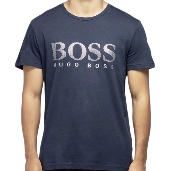 Hugo Boss-T-SHIRT RN SPECIAL-NAVY
