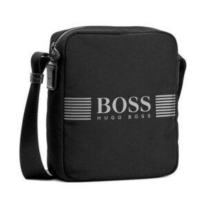 Hugo Boss - PIXEL_NS ZIP BAG - BLACK