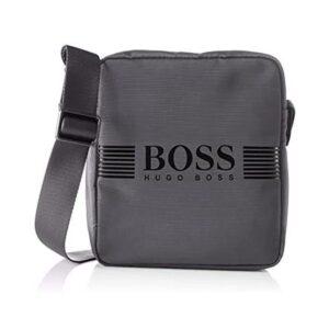Hugo Boss - PIXEL_NS ZIP BAG - GREY