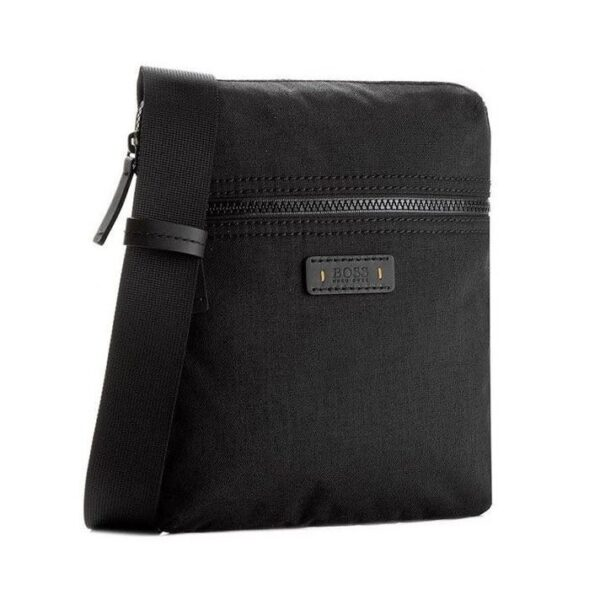 Hugo Boss - SATURN R_S ZIP BAG - BLACK