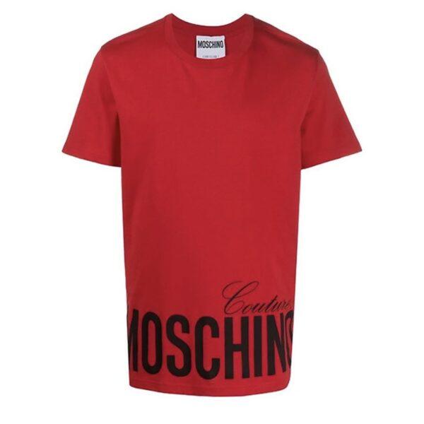 MOSCHINO Tee red