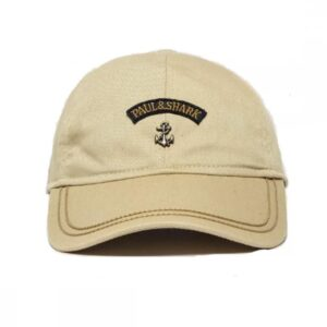PAUL & SHARK - ANCHOR WOVEN CAP- BEIGE