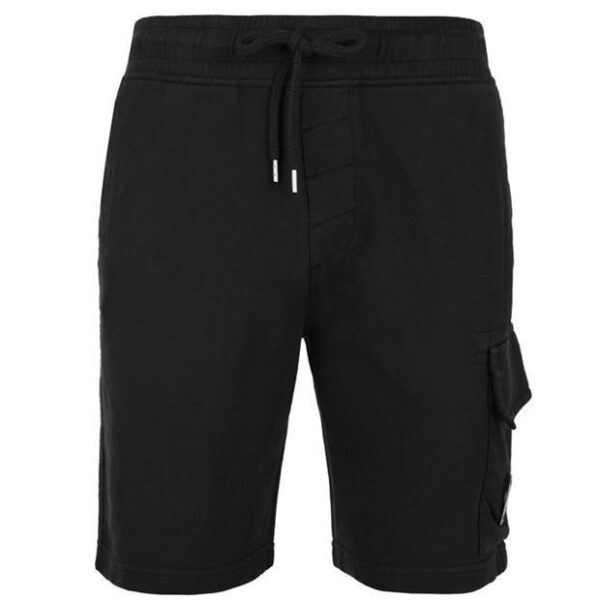 CP Company Lens Cotton Shorts - Black