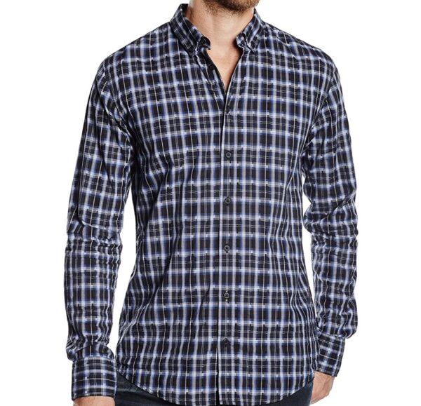 Hugo Boss - Longsleeve Shirt - Blue / Navy