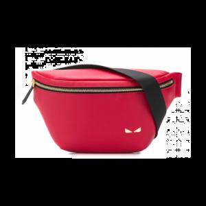 FENDI BUG BELT BAG IN RED